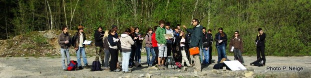 Etudiants de Licence 2 Sciences Terre - Dijon